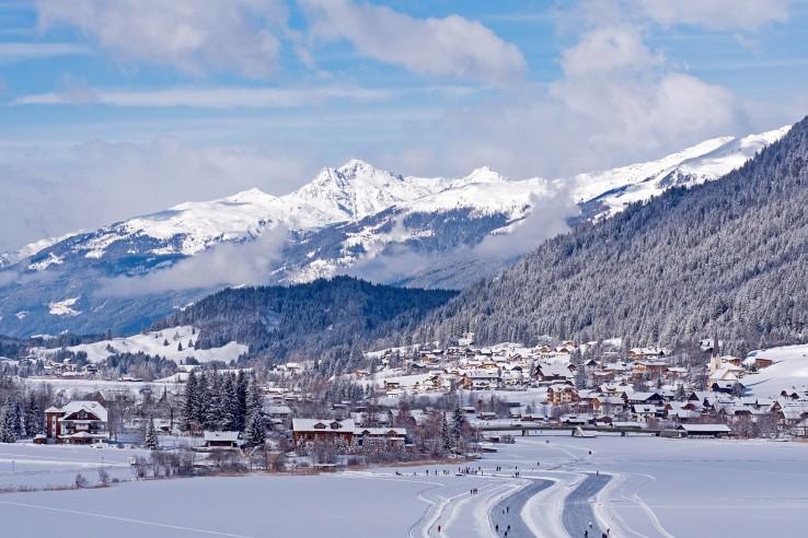 Naturpark Weissensee im Winter