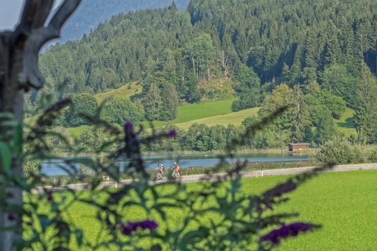 Biken am Weissensee