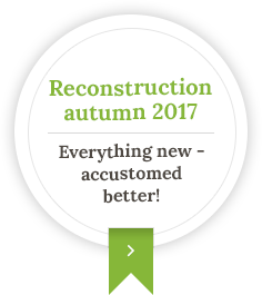 Reconstruction autumn 2017 - Everything new - accustomed better!
